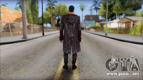 Dante DMC Reboot para GTA San Andreas segunda pantalla