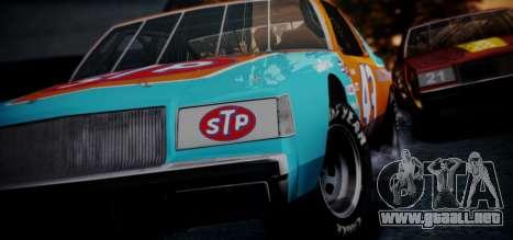 Buick Regal Hotring 1983 (IVF) para GTA San Andreas vista hacia atrás