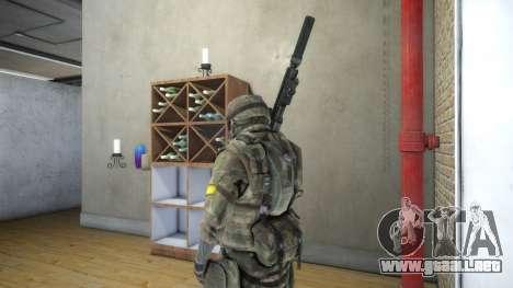 Assault para GTA 4 adelante de pantalla