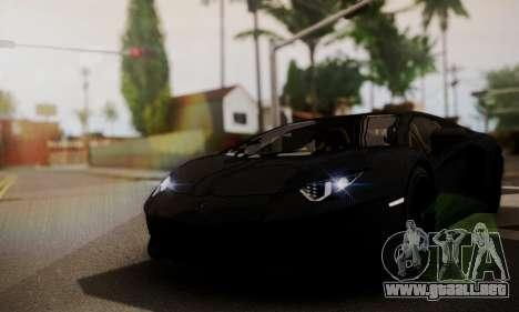 Lamborghini Aventador TT Ultimate Edition para la visión correcta GTA San Andreas