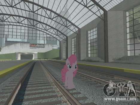 Pinkie Pie para GTA San Andreas sexta pantalla