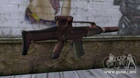 XM8 Compact Red para GTA San Andreas segunda pantalla