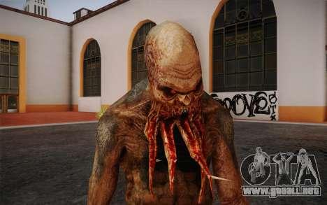 Bloodsucker from S.T.A.L.K.E.R. para GTA San Andreas tercera pantalla