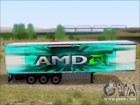 Trailer AMD Athlon 64 X2 para GTA San Andreas vista hacia atrás