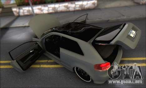 Audi S3 2006 Custom para el motor de GTA San Andreas