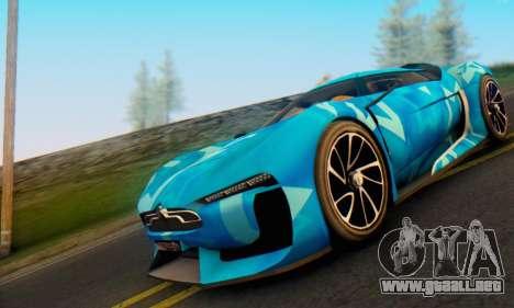 Citroen GT Blue Star para GTA San Andreas