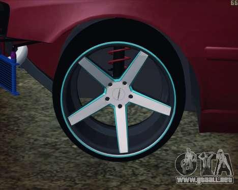 Toyota Chaser Tourer V korch para la visión correcta GTA San Andreas