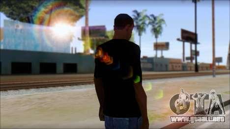 Guitar T-Shirt Mod v2 para GTA San Andreas segunda pantalla