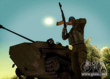 El RAA. Granadero CRRF para GTA San Andreas tercera pantalla