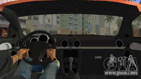 RUF CTR3 para GTA Vice City vista lateral izquierdo