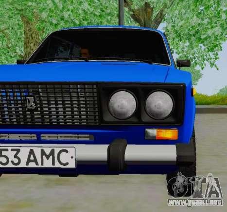 VAZ 21061 para la visión correcta GTA San Andreas