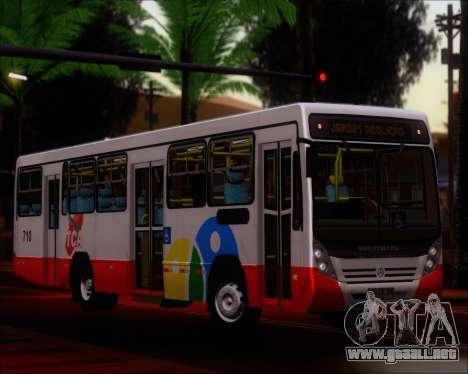 Neobus Mega IV - TCA (Araras) para visión interna GTA San Andreas