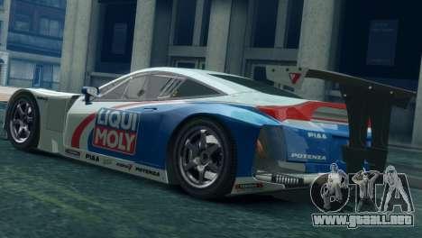 Honda HSV-010 GT para GTA 4 left
