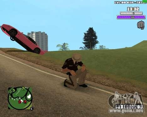 C-HUD by Weezy para GTA San Andreas segunda pantalla