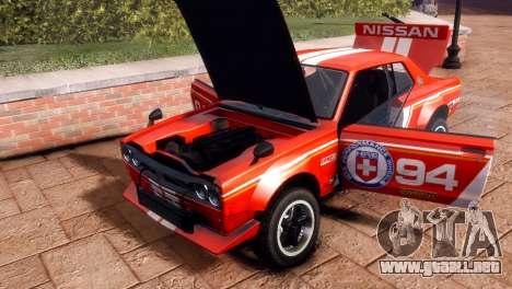 Nissan Skyline 2000 GTR SH para GTA 4 visión correcta