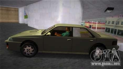 Sultan from GTA San Andreas para GTA Vice City vista lateral izquierdo