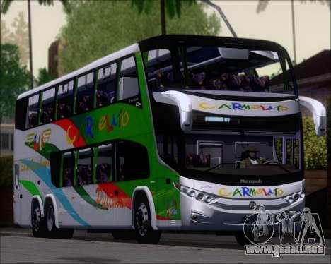 Marcopolo Paradiso G7 1800 DD 6x2 Scania K420 para GTA San Andreas left
