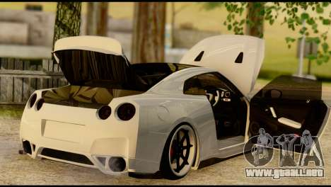 Nissan GT-R V2.0 para visión interna GTA San Andreas