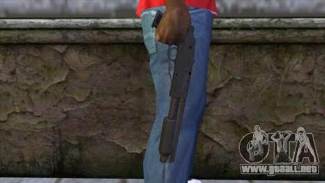 Sawnoff Shotgun from GTA 5 para GTA San Andreas tercera pantalla