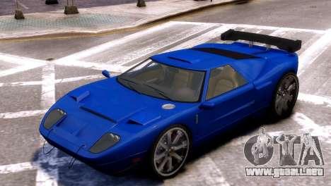 GTA V Bullet para GTA 4 Vista posterior izquierda