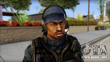 Sami GIGN from Soldier Front 2 para GTA San Andreas tercera pantalla