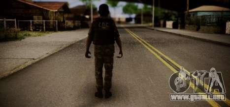 Sicario Del Golfo para GTA San Andreas segunda pantalla