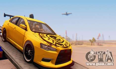 Mitsubishi Lancer Evolution X Metalhead para GTA San Andreas