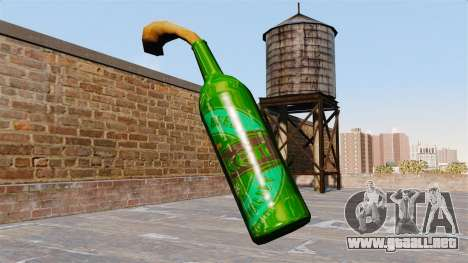 El Cóctel Molotov-Heineken- para GTA 4 segundos de pantalla
