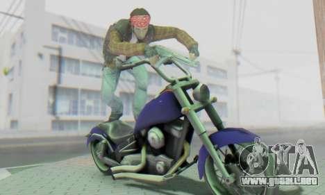 Biker A7X 2 para GTA San Andreas sexta pantalla