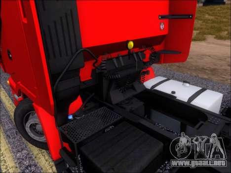 Iveco Stralis HiWay 560 E6 6x4 para la vista superior GTA San Andreas