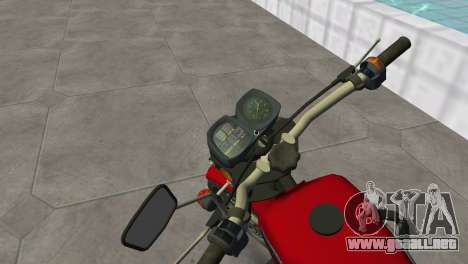 IZH Planeta 5 para GTA Vice City vista lateral izquierdo