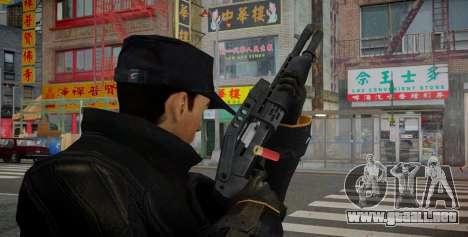 SPAS-12 para GTA 4 segundos de pantalla