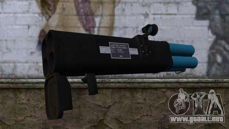 M20 BRS Rocket Launcher para GTA San Andreas segunda pantalla