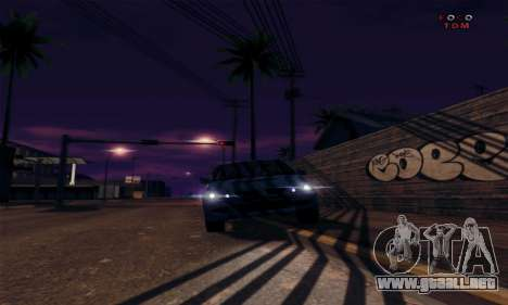 [ENB] Kings of the streers para GTA San Andreas quinta pantalla