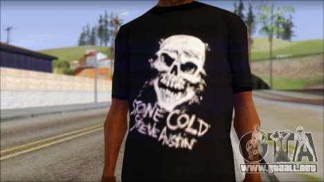 Rey Mystirio T-Shirt para GTA San Andreas tercera pantalla