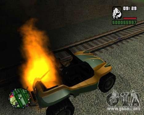 El golpe de estado para GTA San Andreas tercera pantalla