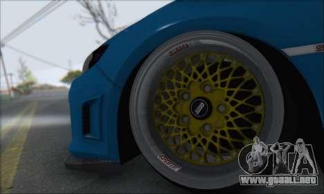 Subaru Impreza WRX STI 2010 para la visión correcta GTA San Andreas