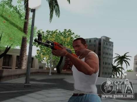 Type 56 para GTA San Andreas quinta pantalla
