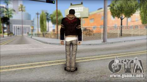 Unhooded Alex from Prototype para GTA San Andreas segunda pantalla