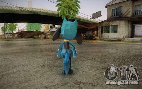 Riolu from Pokemon para GTA San Andreas segunda pantalla