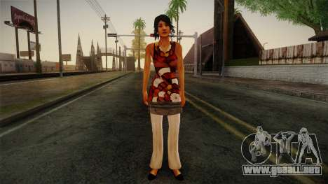 Billie from Stranglehold para GTA San Andreas