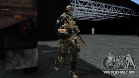 Army Ghost v2 para GTA San Andreas segunda pantalla