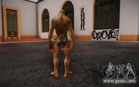 Bloodsucker from S.T.A.L.K.E.R. para GTA San Andreas segunda pantalla
