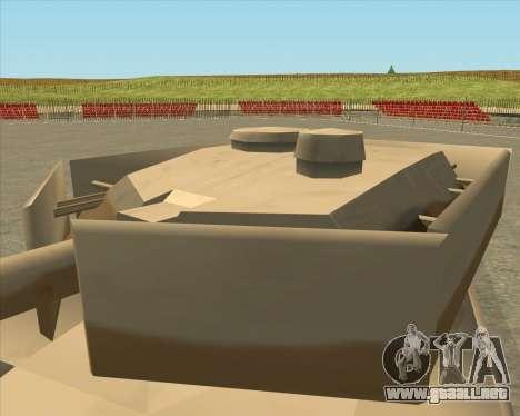 Dozuda.s Primary Tank (Rhino Export tp.) para la visión correcta GTA San Andreas