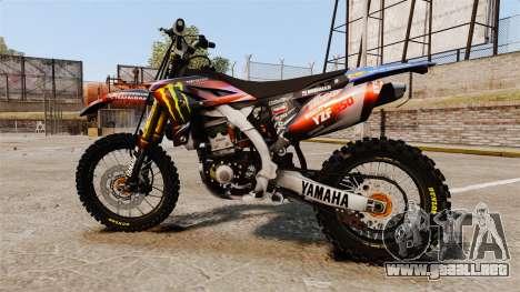 Yamaha YZF-450 v1.13 para GTA 4 left