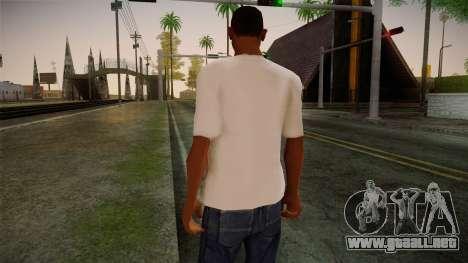 Lostsaga T-Shirt para GTA San Andreas segunda pantalla