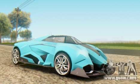 Lamborghini Egoista Concept 2013 para GTA San Andreas left