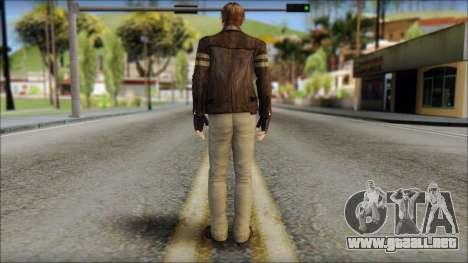 Leon Kennedy from Resident Evil 6 v4 para GTA San Andreas segunda pantalla