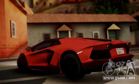 Lamborghini Aventador TT Ultimate Edition para GTA San Andreas left