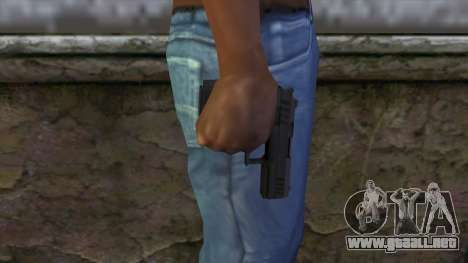 Combat Pistol from GTA 5 v2 para GTA San Andreas tercera pantalla